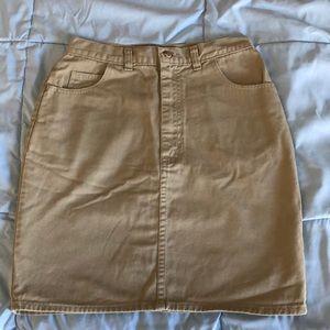 8 Denim Skirt Stretch Euc! Jacob Connexion Womens Junior Sz 7 Women's Clothing